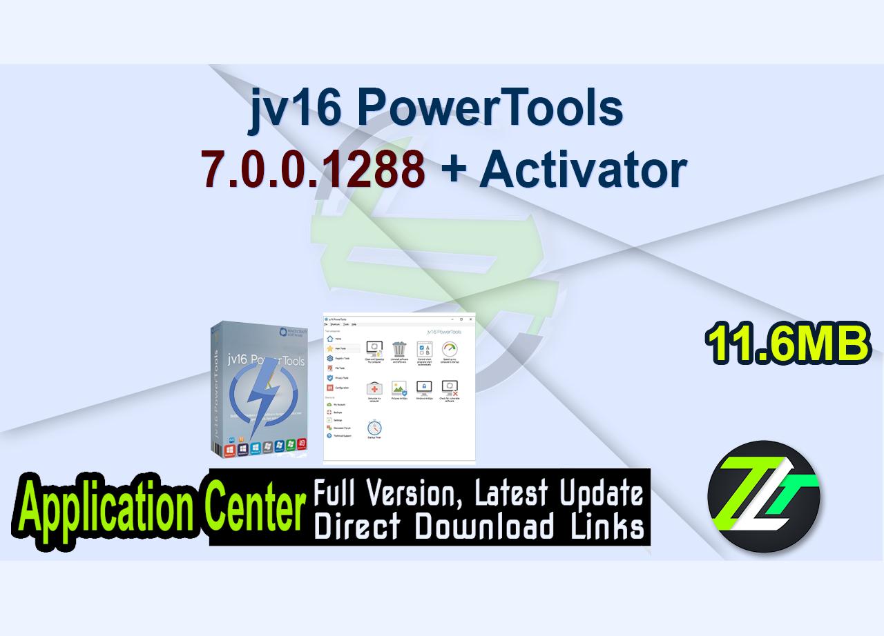 jv16 PowerTools 7.0.0.1288 + Activator
