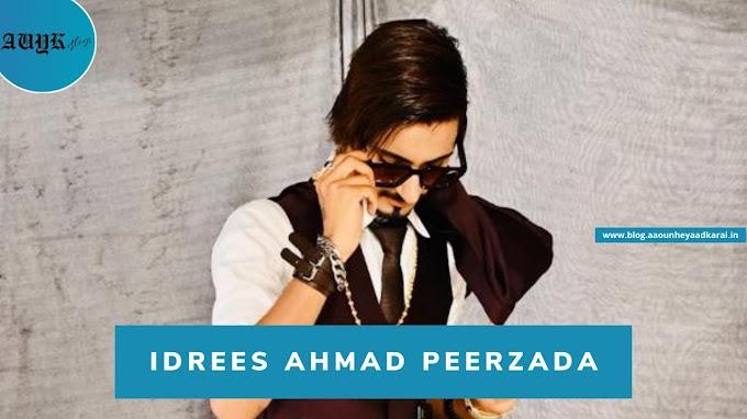 Idrees Ahmad Peerzada : Honoured by Mr. Popular Face of Kashmir