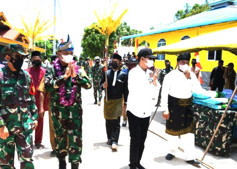 Tim Wasev Mabes TNI AD, Tinjau Program TMMD Ke 112 di Batam