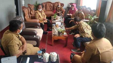 Pemko Padang dan Pemkab Dharmasraya Bertandang ke Kota Randang