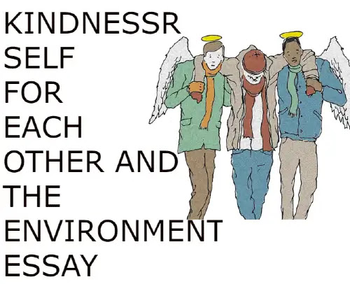 Kindness for self for each other and the environment essay