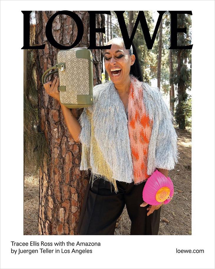 Loewe Amazona Bag Campaign Fall/Winter 2021