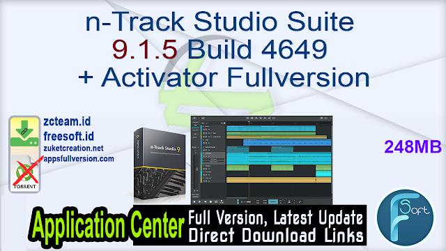 n-Track Studio Suite 9.1.5 Build 4649 + Activator Fullversion