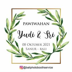 08102021 PAWIWAHAN YUDI & SRI AT SANUR - BALI