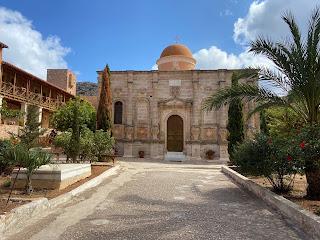 Gouverneto Monastery - the church inside the monastery.