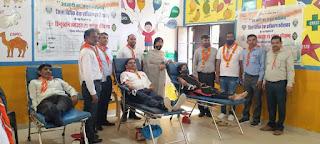 डालसा द्वारा आजादी के अमृत महोत्सव के तहत आयोजित रक्तदान शिविर