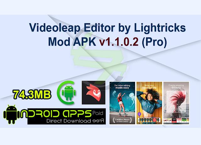 Videoleap Editor by Lightricks Mod APK v1.1.0.2 (Pro)