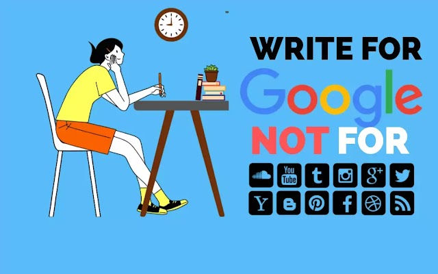 Why Should You Write Content For Google