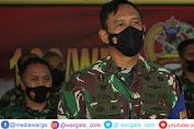 Melalui Vicon, Danrem 162/WB Hadiri Sosialisasi Doktrin TNI AD Kartika Eka Paksi Tahun 2021