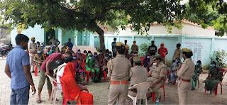 मिशन शक्तिः थाना प्रभारी ने महिलाओं को दिया सुरक्षा का वचन    #NayaSaberaNetwork