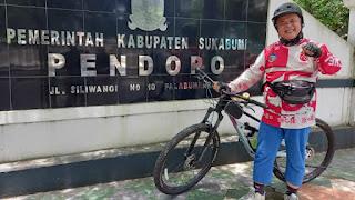Gowes dari Kota Sukabumi