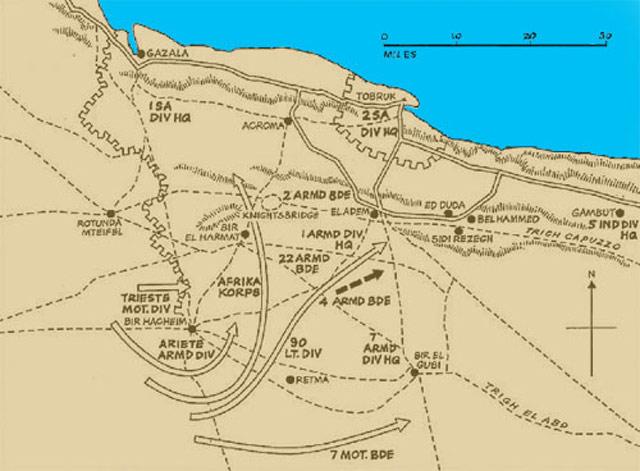 "Battle of the Gazala Line, 6 June 1942"" worldwartwo.filminspector.com"