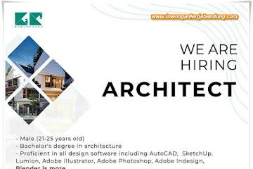 Loker Bandung Staff Architect Gubah Ruang