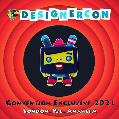 "Designer Con London 2021 Exclusive Vincent Red Edition Dunny 5"" Vinyl Figure by Scott Tolleson x Kidrobot"