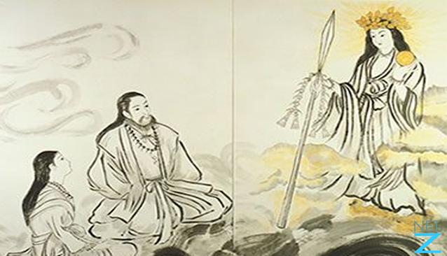 Illustration of Ame no Minakanushi
