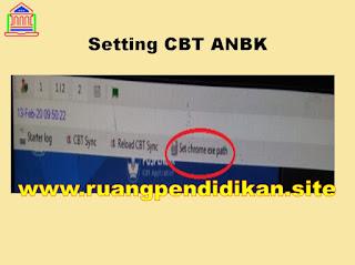 Setting Aplikasi CBT ANBK
