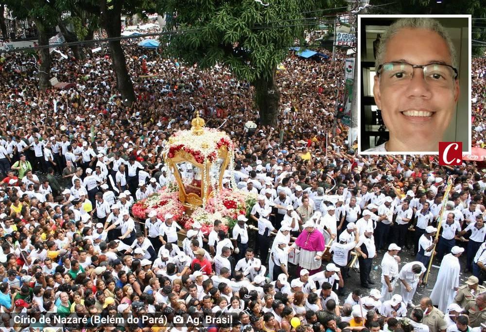cirio nazare belem para fe religiao romaria