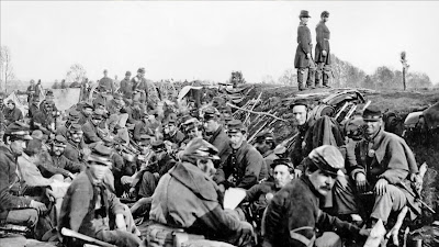 soldiers in the American Civil War
