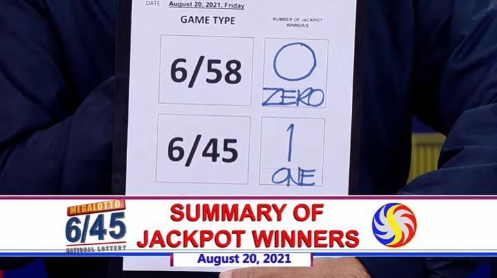 Bettor wins Php 24.3-M Mega Lotto jackpot