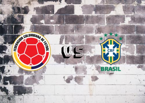 Colombia vs Brasil  Resumen y Partido Completo