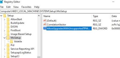 Aggiornamento Windows 11