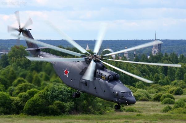 Nga vẫn sản xuất trực thăng Mi-26 khổng lồ