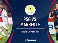 FRA: Marseille vs PSG Live Stream