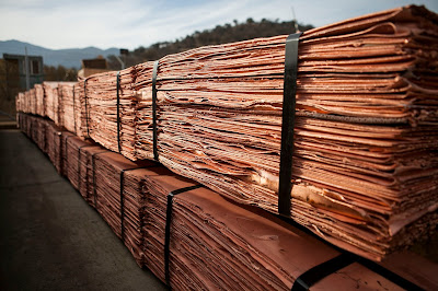 El precio del cobre se desplomó tras histórica subida
