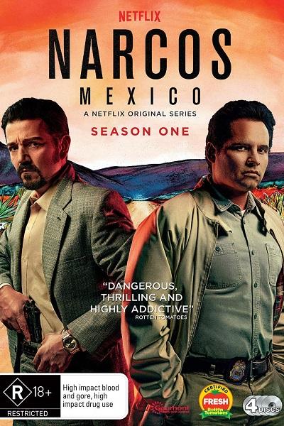 Download Narcos: Mexico (2021) S01 Dual Audio [Hindi+English] 720p + 1080p Bluray ESubs