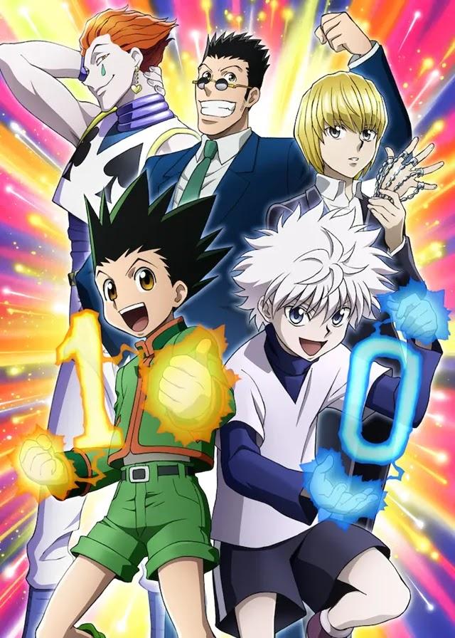 O Anime Hunter x Hunter Comemora seu Aniversário com uma nova ilustração