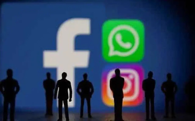 The services provided by Facebook were not accessible for about 7 o'clock on the evening of 4-10. Photo: Reuters