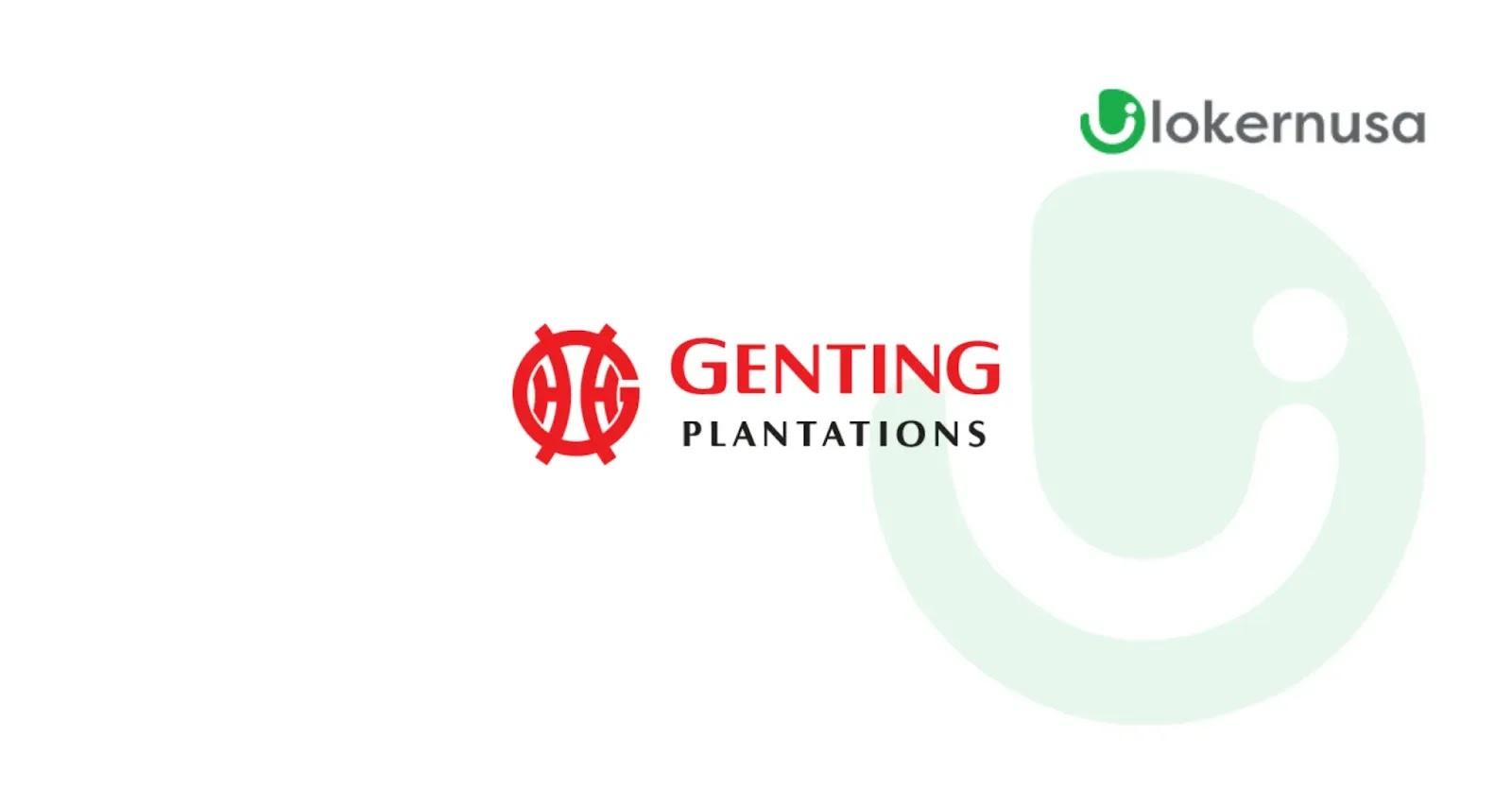 Lowongan Kerja Kalimantan - PT Genting Plantation Nusantara
