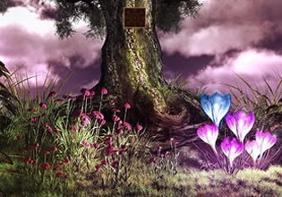 Play 365Escpe The Land Of Crystals Escape