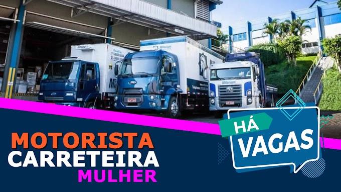 Transportadora Millenium abre vagas para motorista de truck feminino