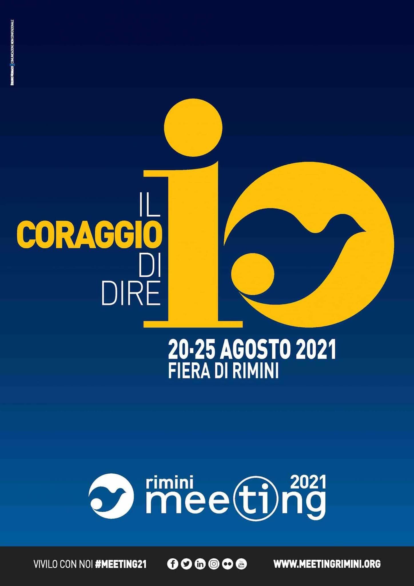 Cartel de Meeting de Rimini