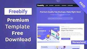 Freebify Premium Blogger Template Free Download