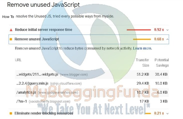 Remove all Unused Scripts & Styles from Blogger [Load Faster]