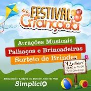 Festival da Criançada no Parque João do Vale contará com atividades e sorteios para público infantil