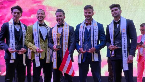Mister Model International 2021 es Puerto Rico