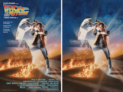 New York Comic Con 2021 Exclusive Back to the Future Screen Print by Drew Struzan x Bottleneck Gallery