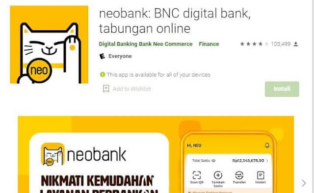 aplikasi penghasil saldo ovo neobank