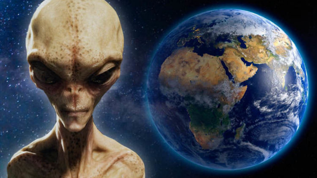 This is a spectacular Alien and the world background image which represents the UAP phenomenon perfectly.