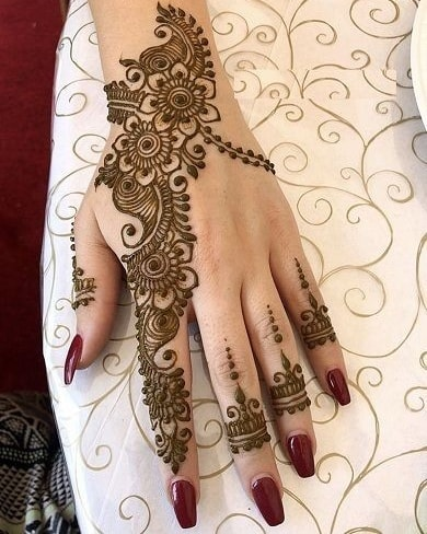 mehndi designs for karwa chauth special