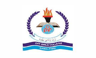 https://www.opf.org.pk/jobs/ - OPF Girls College Rawalpindi Jobs 2021 in Pakistan