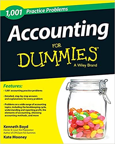 Accounting: 1,001 Practice Problems For Dummies