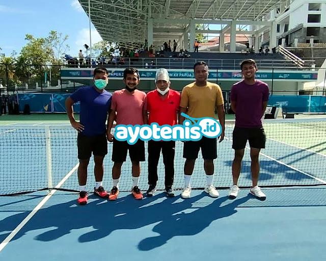 Tenis PON XX Papua: Tim Putra Bengkulu Melesat ke Final Beregu. Ini Kata Jeremy Nahor
