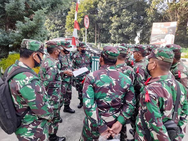 Dalam Rangka Mobile Training Team (MTT), Danramil 14/Raya Personel Jajaran Kodim 0207/Simalungun Turut Mengikuti