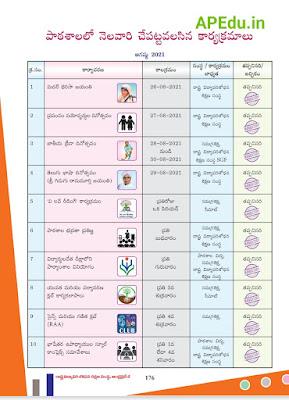 School Academic Calender Year-2021-2022 All Classes