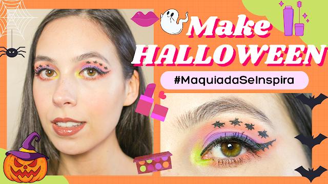 Maquiagem de Halloween #MaquiadaSeInspira!