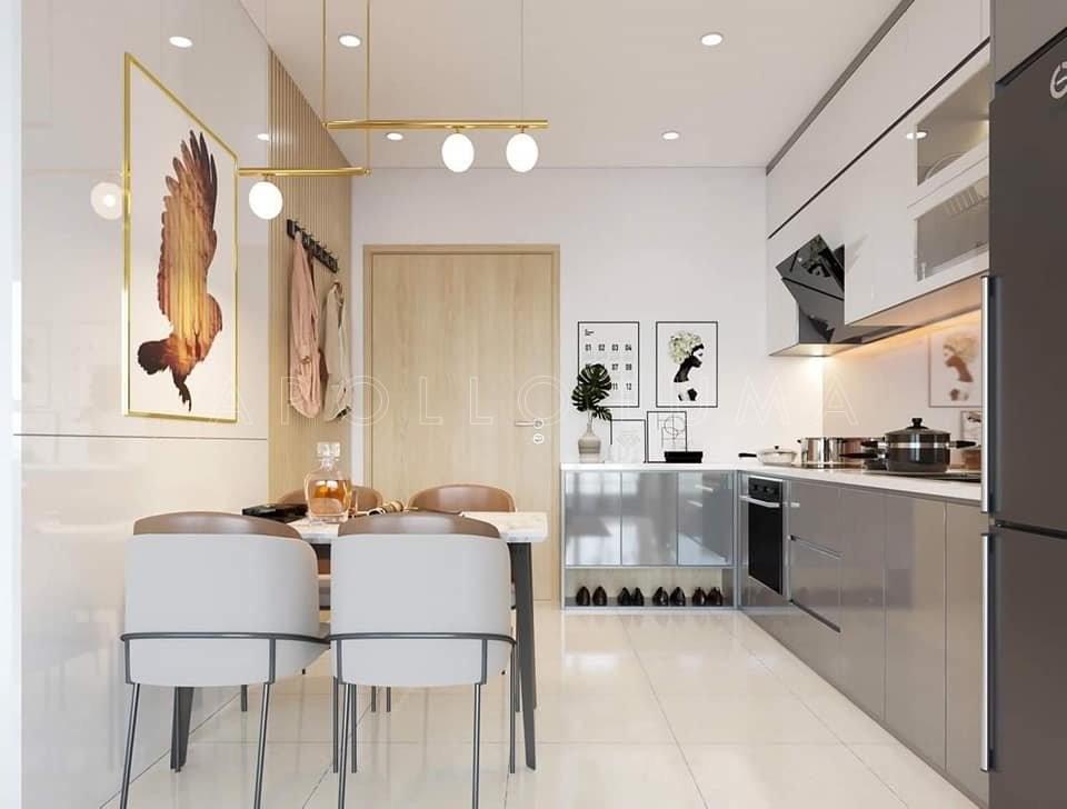 Thiết kế nội thất căn hộ 2PN+1 Vinhomes Ocean Park Gia Lâm